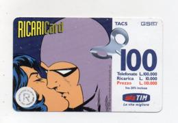 "Ricarica Telefonica "" TIM "" Da Lire 100.000 - Usata - Validità 9.2000 - (FDC17615) - Schede GSM, Prepagate & Ricariche"