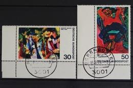 Deutschland (BRD), MiNr. 816-817, Ecke Li. Unten, Gestempelt - BRD