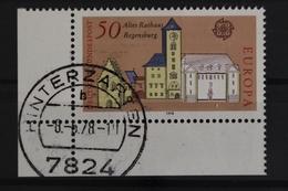 Deutschland (BRD), MiNr. 970, Ecke Links Unten, Gestempelt - BRD