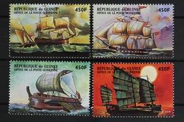 Guinea, Schiffe, MiNr. 2191-2194, Postfrisch / MNH - Guinea (1958-...)