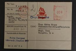 Lörrach, Liebesgabenpaket Empfangsbescheinigung, Paket Aus Basel, 1949 - Deutschland