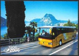 Svizzera/Suisse/Switzerland: Intero, Stationery, Entier, 100° AutoPostale, 100ème Bus Postal,100th Postbus - Philately & Coins