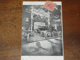 Devanture Avec Modèles D'un Magasin Automobile MOTOBLOC - Postcards