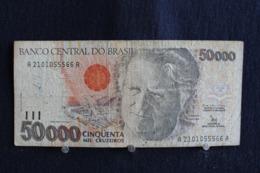 94: / Brésil, Banco Central Do Brasil, 50000  Cruzeiros   /  N° A  2101055566 A - Brésil