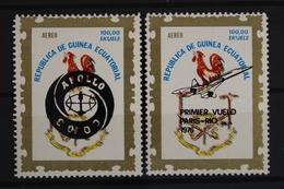 Äquatorialguinea, MiNr. 837-838 I, Postfrisch / MNH - Guinée Equatoriale
