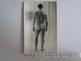 Photo Photos Photographie Homme Nu Dans L'état Tache En Haut à Gauche - Personnes Anonymes