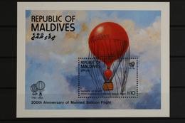 Malediven, Flugzeuge, MiNr. Block 88, Postfrisch / MNH - Malediven (1965-...)