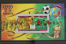 Komoren, MiNr. Block 174 A A, Fußball WM 1978, Postfrisch / MNH - Komoren (1975-...)