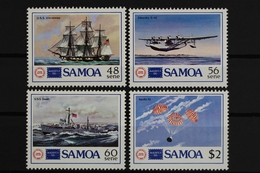 Samoa, MiNr. 595-598, Schiffe, Flugzeuge, Postfrisch / MNH - Samoa