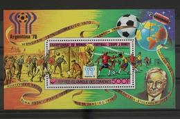 Komoren, MiNr. Block 174 B A, Fußball WM 1978, Postfrisch / MNH - Komoren (1975-...)