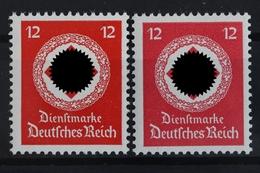 DR Dienst, MiNr. 172 A + B, Beide Farben, Postfrisch / MNH - Servizio