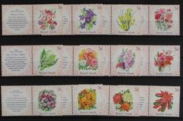 Marshall - Inseln, Partie Aus 2001, Blumen, Postfrisch/MNH - Marshallinseln