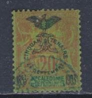 Nlle Calédonie N° 74 O  : Cinquantenaire Présence Française : 20 C. Assez Belle Oblitération Sinon TB - Usados