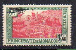 Monaco Avion N° 1 Neuf * - Cote 30€ - Airmail