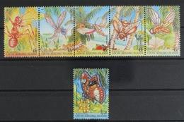 Kokos Inseln, MiNr. 334-339, Insekten, Postfrisch / MNH - Isole Cocos (Keeling)