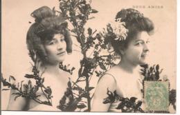 """L80b283 - """"Deux Amies"""" - Portrait De Femmes - - Femmes"""
