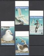 B009 ROSS DEPENDENCY WWF FAUNA BIRDS 1SET MNH - W.W.F.