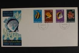 Tokelau-Inseln, MiNr. 38-41, Fische, FDC - Tokelau