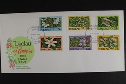 Tokelau-Inseln, MiNr. 136-141, Pflanzen, FDC - Tokelau
