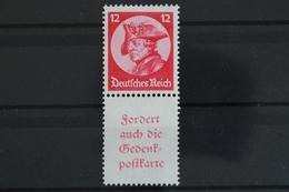 Deutsches Reich, MiNr. S 104, Postfrisch / MNH - Zusammendrucke