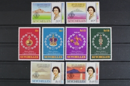 Seychellen, MiNr. 385-392 + Block 8, Postfrisch / MNH - Seychellen (1976-...)