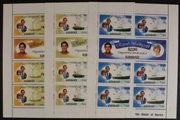 Kiribati, MiNr. 371-376, Kleinbögen, Postfrisch / MNH - Kiribati (1979-...)