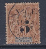 Nouvelle Calédonie N° 65 O 5c. Sur 30 C. Brun Oblitération Moyenne Sinon TB - Gebruikt