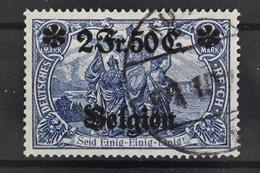 Landespost Belgien, MiNr. 9, Gestempelt - Besetzungen 1914-18