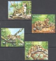 B011 MALAYSIA WWF FAUNA WILD ANIMALS 1SET MNH - W.W.F.