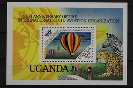 Uganda, MiNr. Block 46, Ballone, Postfrisch / MNH - Uganda (1962-...)