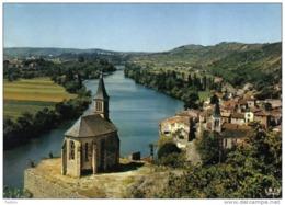 Carte Postale 46. Laroque-des-Arcs Et Sa Chapelle Trés Beau Plan - France