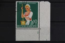 Deutschland (BRD), MiNr. 298, Ecke Re. Unten, FN 1, Gestempelt - Gebraucht