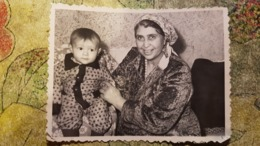 Original Photo Ancienne Postcard Size-  USSR - Gypsy, Zigeuner, Gitan - Typical Gypsy Life In Russia, Soviet Time 1940s - Ethniques, Cultures