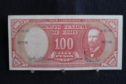 96 /  Chile, 10 Centesimos On 100 Pesos -   K-25-101 /  N° 367148 - Chili
