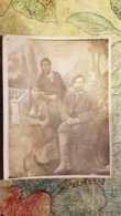 Original Photo Ancienne Postcard Size-  USSR - Gypsy, Zigeuner, Gitan - Typical Gypsy Life In Russia, Soviet Time 1920s - Ethniques, Cultures