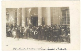 Cpa Avignon - Carte-photo Hôpital Sainte Marthe, Remise De La Croix à 4 Officiers - Avignon