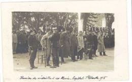 Cpa Avignon - Carte-photo Hôpital Sainte Marthe, Remise De Médailles à Des Blessés - Avignon