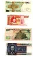 Lot 7-Lot De 8 Billets, Différents Pays, Différents états, Voir Scan - Non Classés