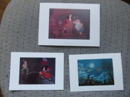 3 Cartes Postales Disney Peter Pan - Altri