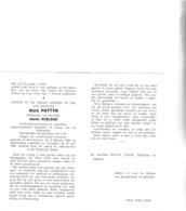 Rijkswachter A.PATTYN °BEVEREN-LEIE 1886 +OOSTAKKER 1968 - Images Religieuses
