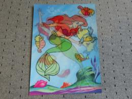 1 Carte Postale Disney  Petite Sirène 3D - Sonstige