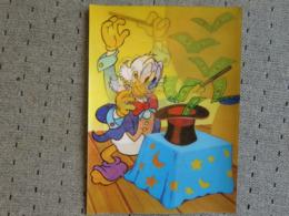 1 Carte Postale Disney Donald 3D - Sonstige
