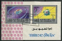 Um Al Qiwain Ob Bloc N° 5A - Engins Spatiaux - - Umm Al-Qaiwain
