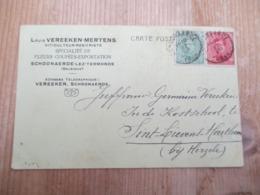 Schoonaarde Louis Vereeken Rozenhandel - Stamped Stationery