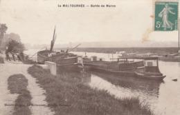 CPA:LA MALTOURNÉE (93) PÉNICHE BORDS DE MARNE...ÉCRITE - Autres Communes