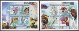B020 2000 CENTRAFRICAINE SPORT & FAUNA OLYMPIC GAMES SALT LAKE CITY 2002 2KB MNH - Winter 2002: Salt Lake City