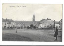 Marbehan (Pr.lux)  ( M 5279 )  Ancien Carte Du Petite Village ( Rue De L'Eglise ) - Virton