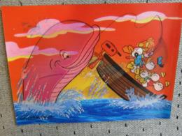 1 Carte Postale Disney Donald 3D - Disney