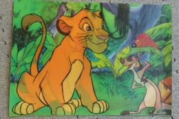 1 Carte Postale Disney Roi Lion 3D - Sonstige