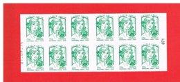 FRANCE - 2014 - CARNET N° 858-C6  -NEUF** NON PLIE - DATE- Marianne De CIAPPA Et KAWENA - TVP Vert-Y&T-COTE :21.00 Euros - Definitives